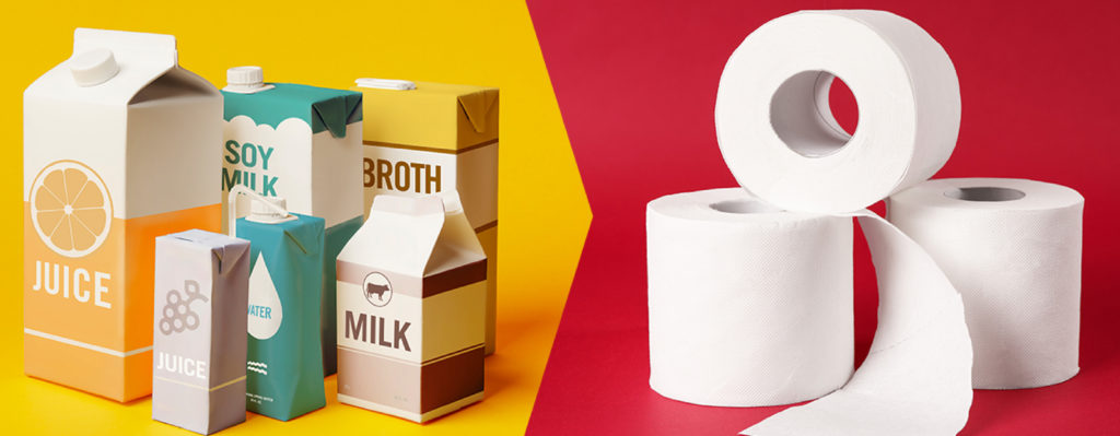 RECYCLED CARTONS CAN HELP PREVENT TOILET PAPER SHORTAGES: CARTON COUNCIL LAUNCHES NEW AWARENESS CAMPAIGN